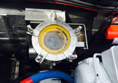 Bellingham Fireboat 2 inch install