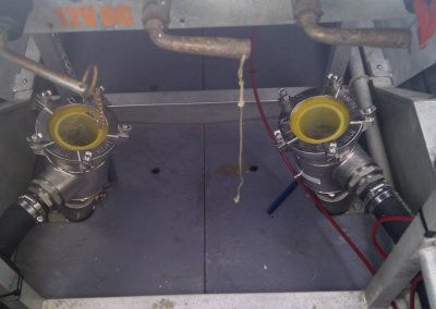 Noosa Coast Guard Dual Strainer Install
