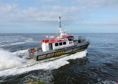 Turbine Transfers Boat